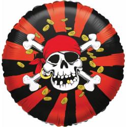 Folien-Ballon Piraten Jolly Roger