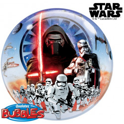 Folien-Ballon Bubbles Star Wars