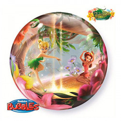 Folien-Ballon Bubbles Tinkerbell