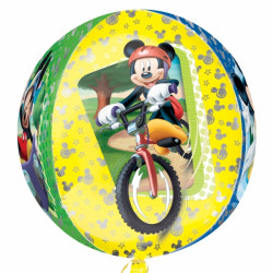 Folien-Ballon Mickey Mouse Bike