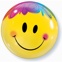 Folien-Ballon Smiley